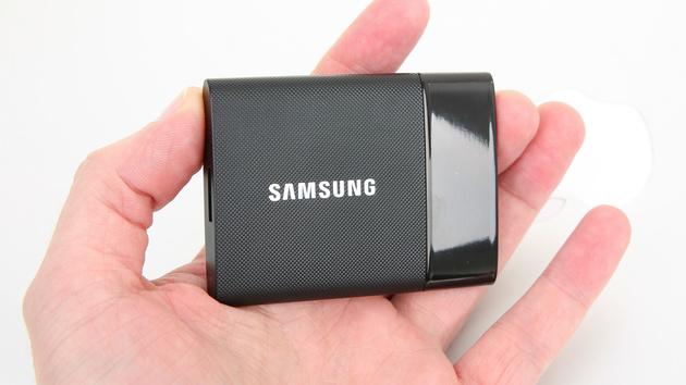 Samsung Portable SSD T1: Gegen den SanDisk Extreme Pro und verschlüsselt