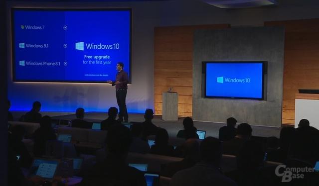 Windows 10 für Windows Phone 8.1 kostenlos im ersten Jahr