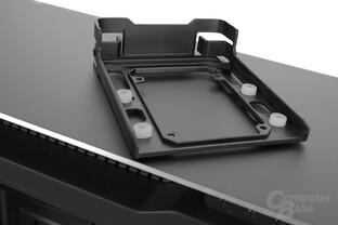 Antec P380 – Festplattenschiene im Detail