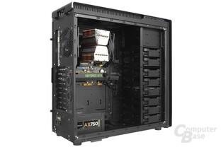 Antec P380 – Testsystem ohne Sichtfenster