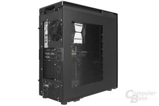 Antec P380 – Testsystem mit Sichtfenster