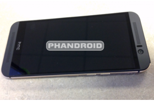HTC One (M9) – Vorderseite