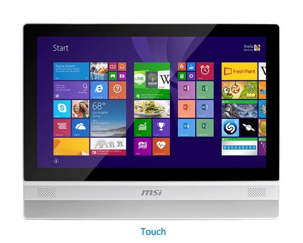 MSI Adora20 5M – mit Touch-Funktionalität