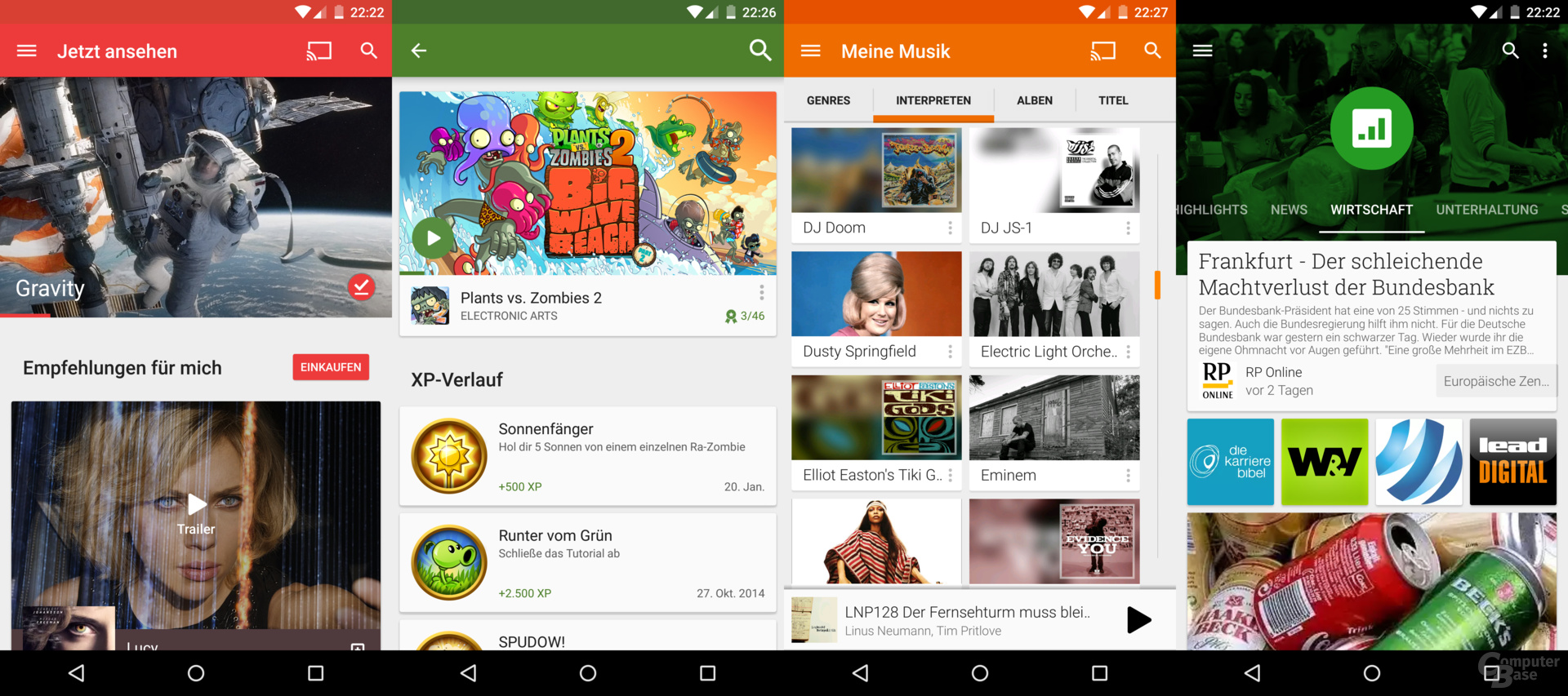 Das Nexus 6 eignet sich perfekt für Multimedia