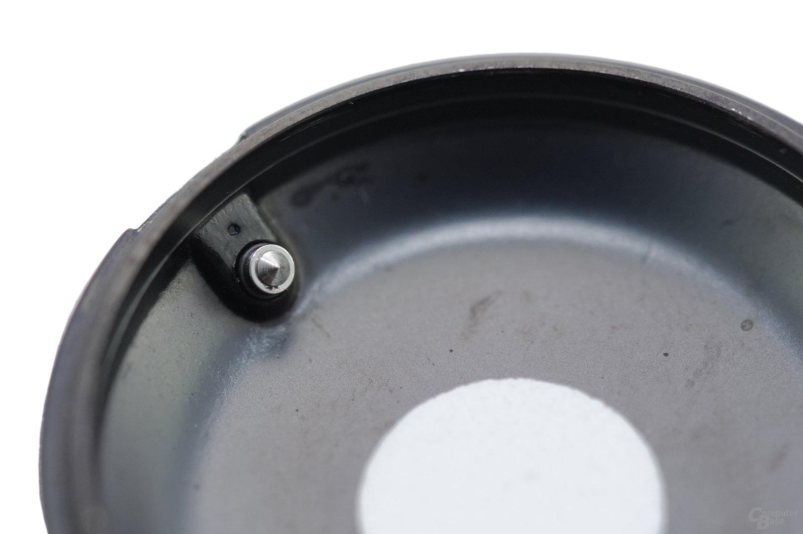 Withings Activité Pop – Reset-Pin ist zu kurz (innen)