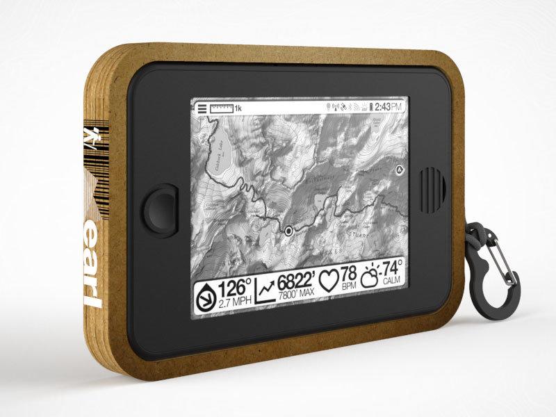 Outdoor-Tablet Earl (Konzeptentwurf)