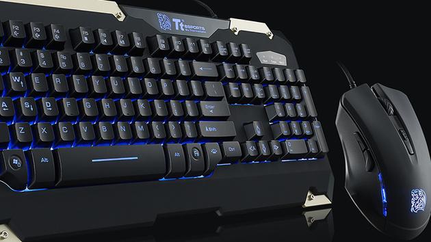 Tt eSports: 30-Dollar-Bundle Commander aus Maus und Tastatur