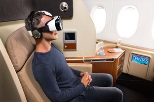 Qantas und Samsung kooperieren in der First Class