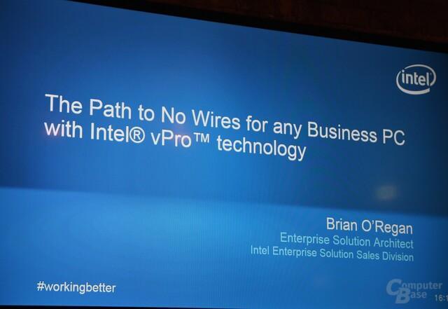 Intels Weg zum kabellosen Arbeitsplatz