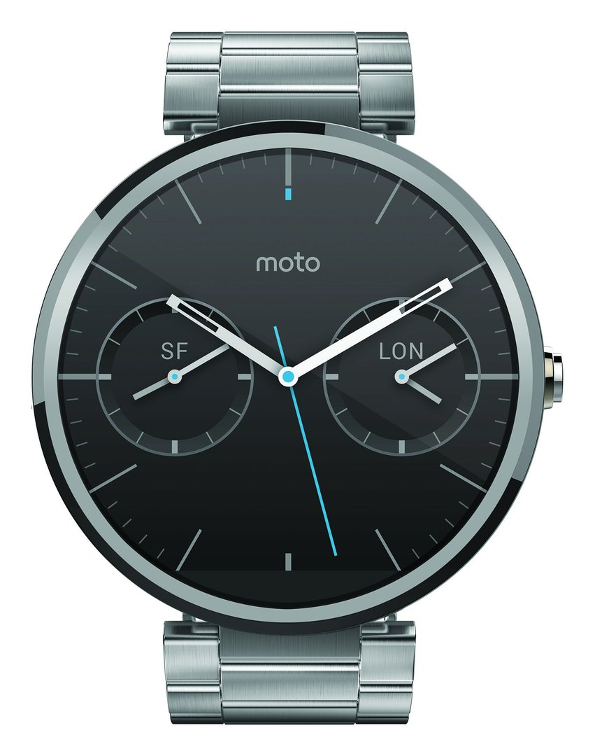 Motorola Moto 360 – Light Metal