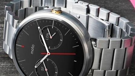 Moto 360: Motorola bringt Uhr mit Metallarmband nach Deutschland