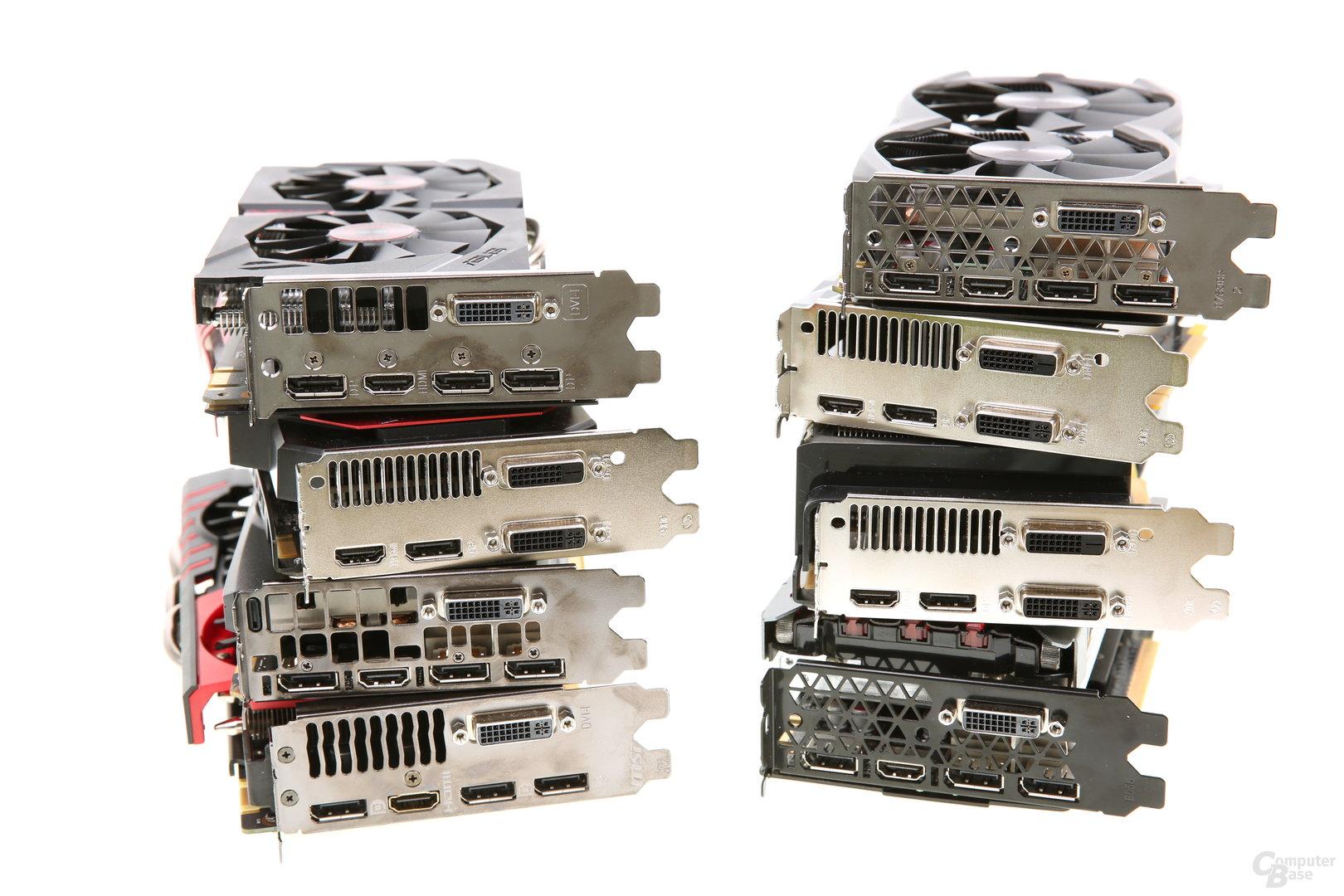 GeForce GTX 960 - Monitoranschlüsse