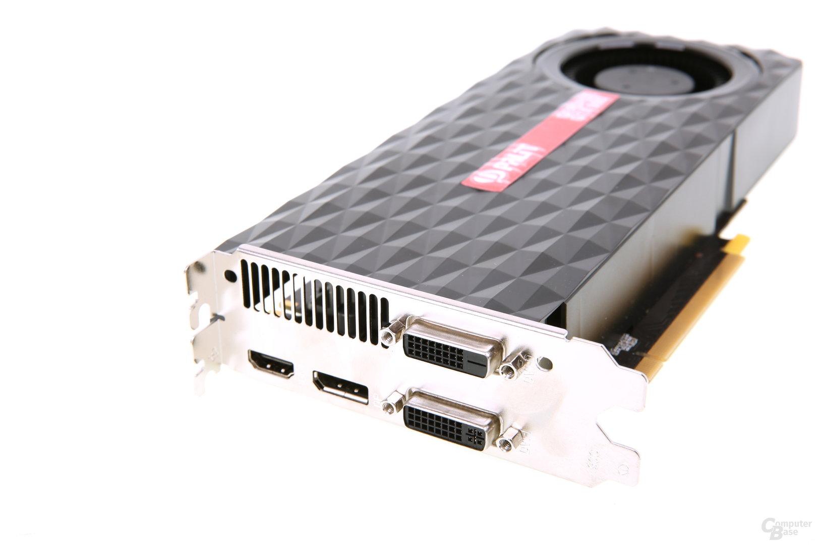 Palit GeForce GTX 960 OC - Slotblech