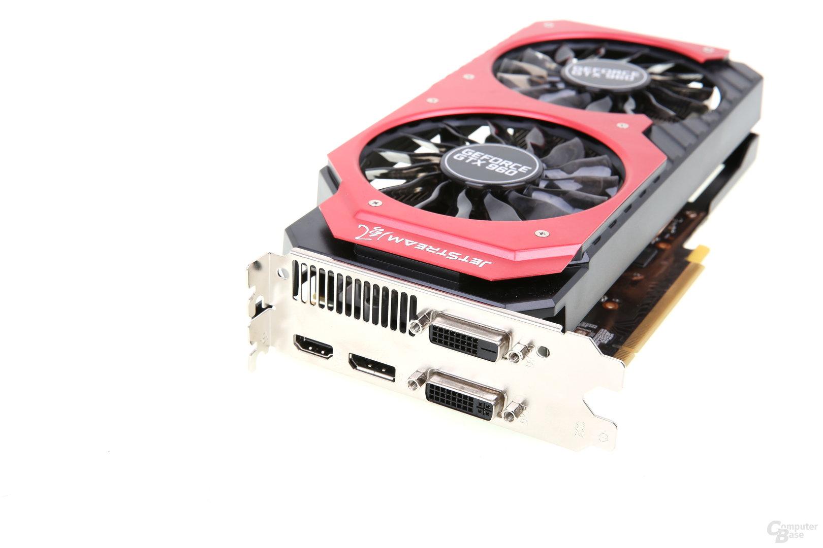 Palit GeForce GTX 960 Super JetStream - Anschlüsse