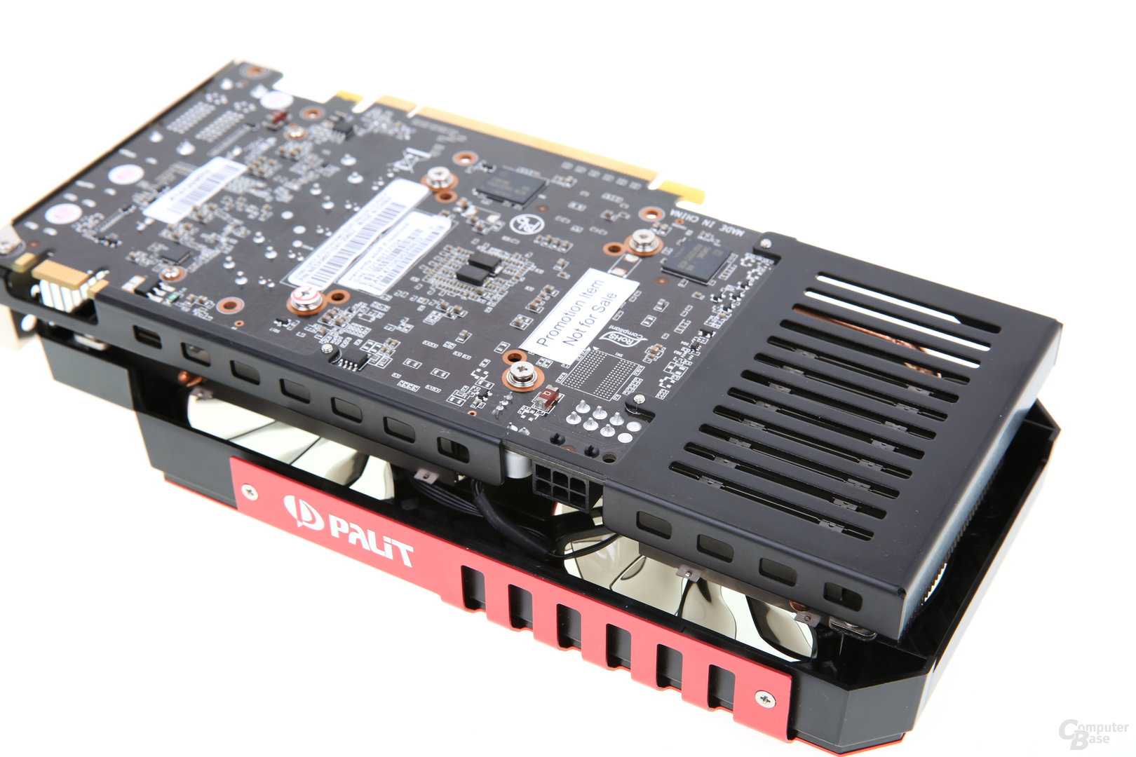 Palit GeForce GTX 960 Super JetStream - Stromanschluss