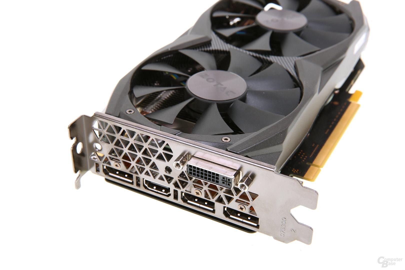 Zotac GeForce GTX 960 AMP! - Slotblech
