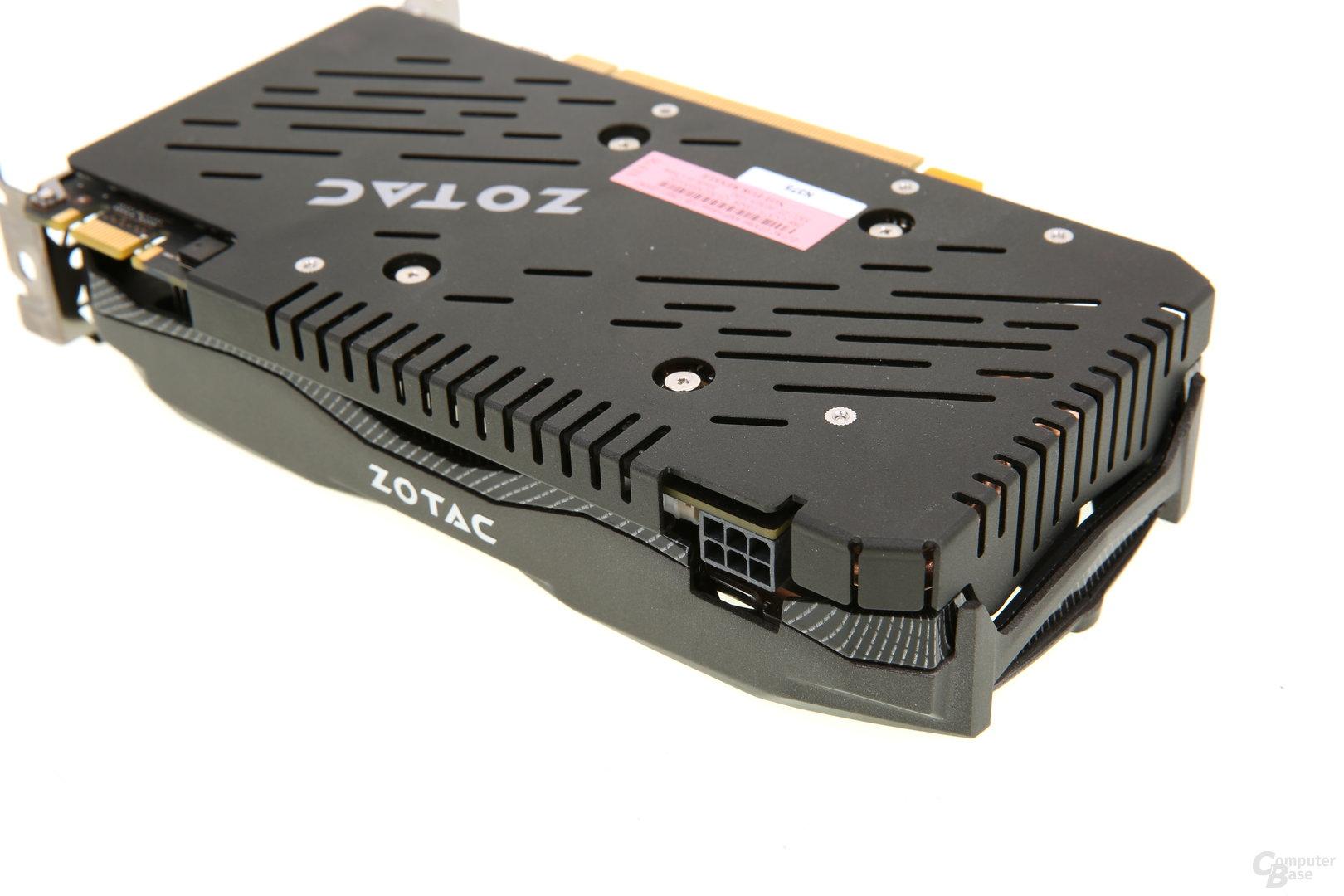 Zotac GeForce GTX 960 AMP! - Stromanschluss