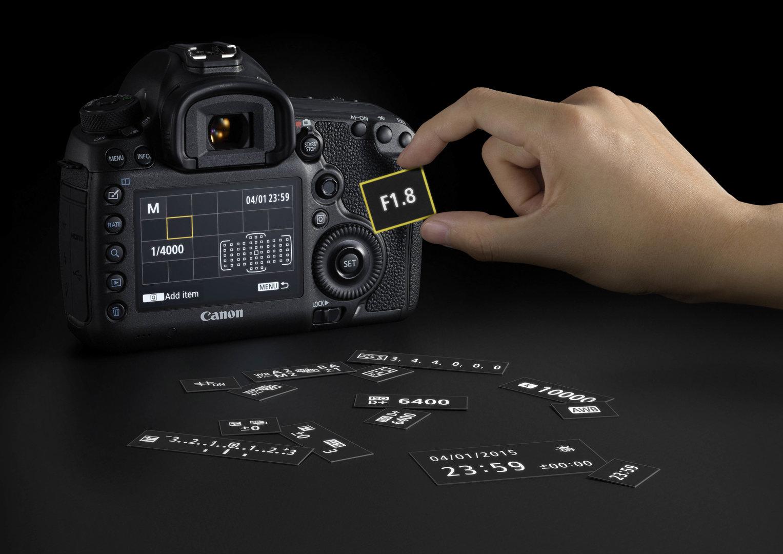 Canon EOS 5DS – Anpassbare Einstellungsoptionen