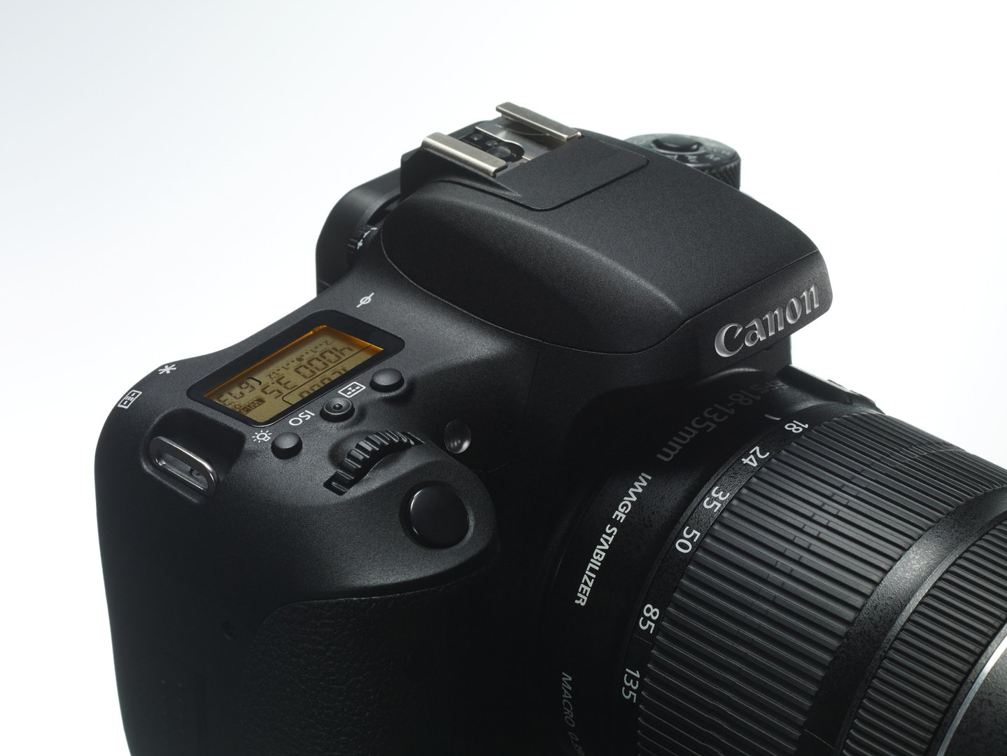 Canon EOS 760D mit Schulter-Display