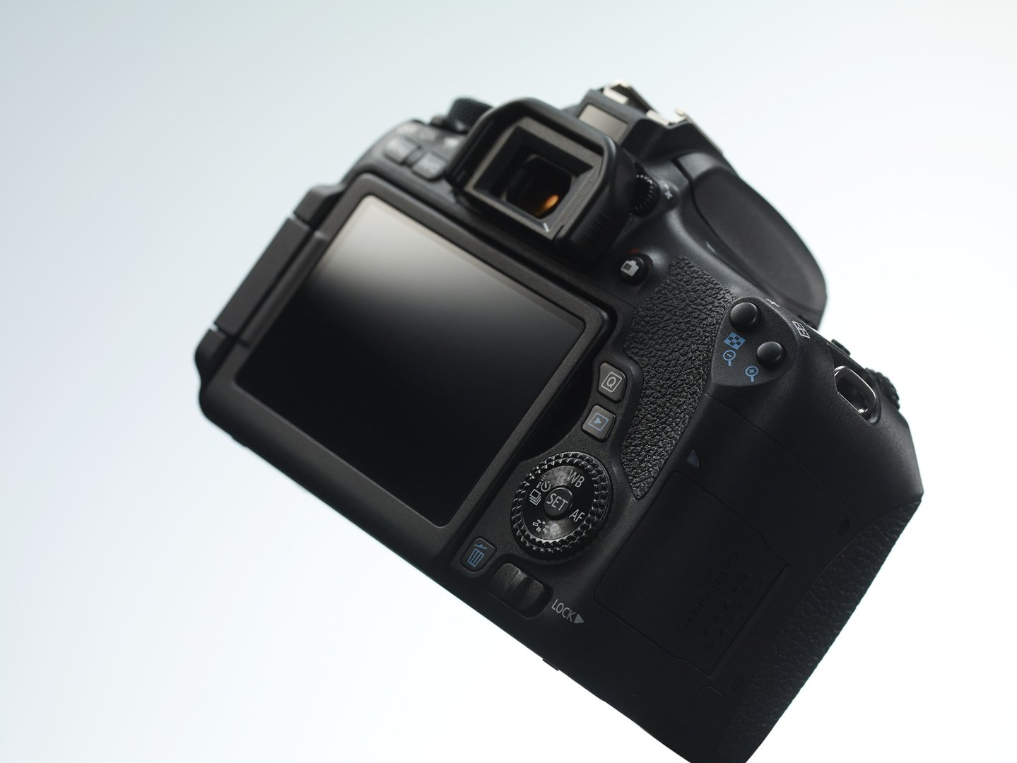 Canon EOS 760D mit Wählrad