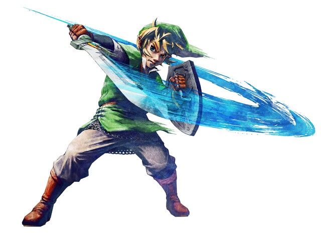 Artwork aus The Legend of Zelda: Skyward Sword für Wii