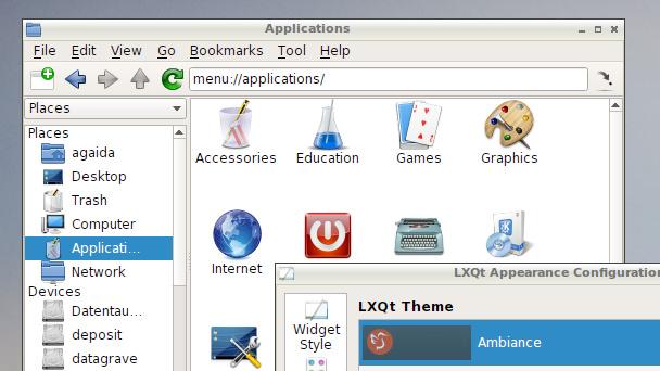 LXQt: LXQt 0.9 profitiert von KDE