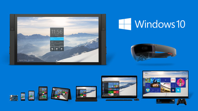 Windows 10 wird es für zahlreiche Geräteklassen geben