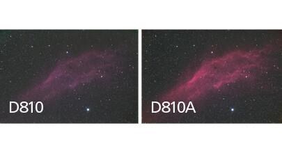 Vergleich Nikon D810 und D810A