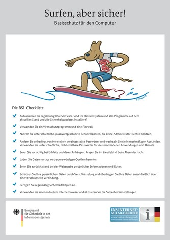 Surfen, aber sicher!
