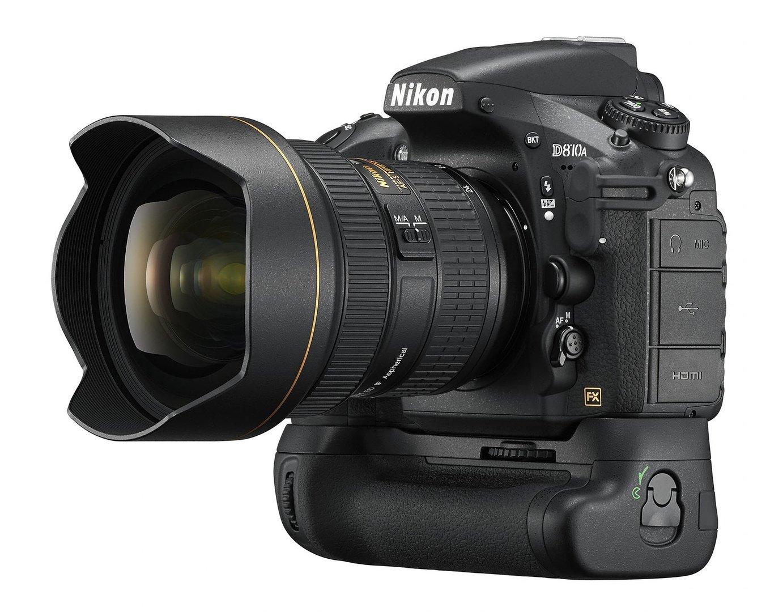Nikon D810A mit Batteriegriff MB-D12