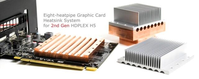 Kühlblock des Hdplex H5 2nd Gen