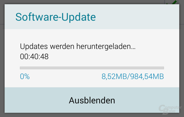 Lollipop-Update für das Galaxy Note 4 N910F