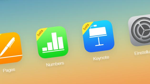 Apple iWork: Office in der iCloud jetzt kostenlos für jedermann