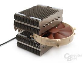 Noctua NH-D14 – Kühlkörper mit zentralem 140-mm-Lüfter