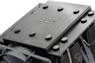 be quiet! Dark Rock Pro 3 – Schutzplatte aus gebürstetem Aluminium