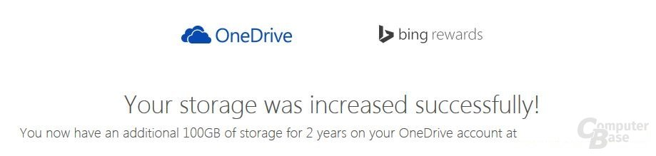 Freischaltung OneDrive