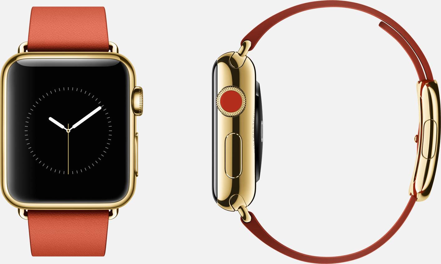 Eine Variante der Apple Watch Edition