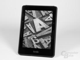 "Kindle Voyage mit ""Origami""-Hülle"