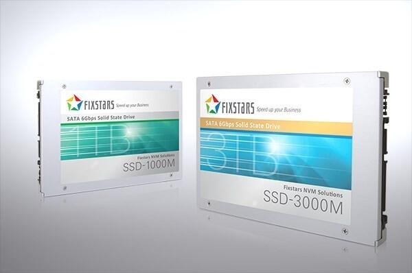 Fixstars-SSDs mit 3 TB und 1 TB
