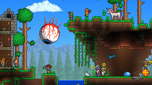 Terraria Otherworld: Re-Design führt Sandbox-Spiel in andere Dimension