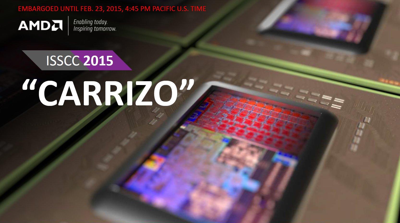 AMD Carrizo zur ISSCC 2015