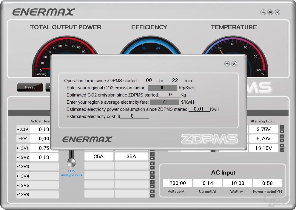 Enermax Digifanless – Software