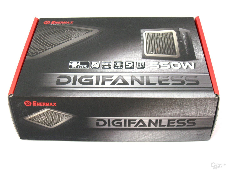 Enermax Digifanless 550W – Verpackung