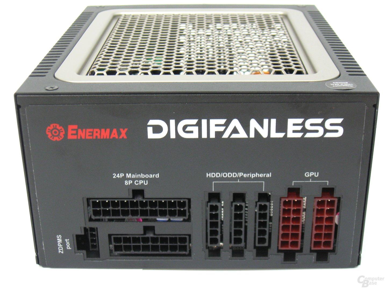 Enermax Digifanless 550W – Modulare Anschlüsse