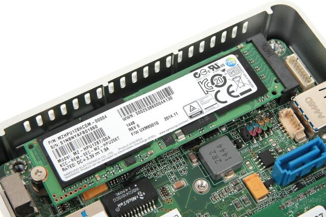 M.2-SSD von Samsung im NUC