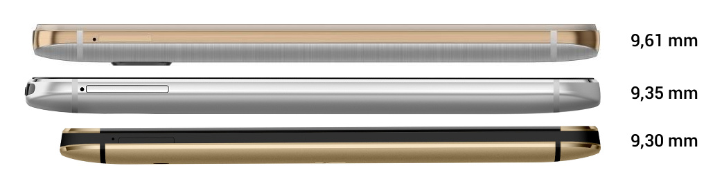 HTC One M9/M8/M7 Tiefe