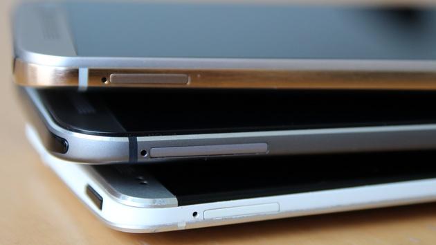 HTC-Design: Das One von M7 über M8 bis M9 im Wandel der Zeit