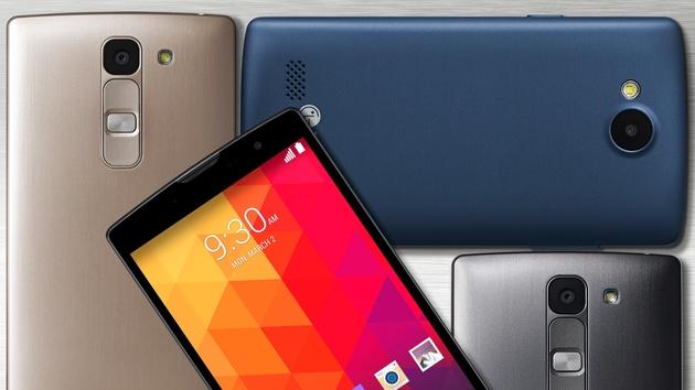 LGs Mittelklasse: Joy, Leon, Magna und Spirit mit Android 5.0 und LTE