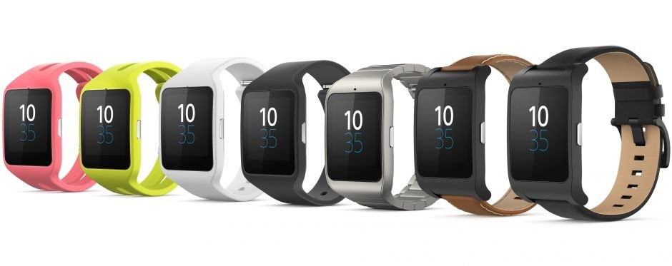Sony Smartwatch 3 in mehreren Varianten