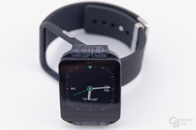 Sony Smartwatch 3 – Uhreneinheit und Korpus